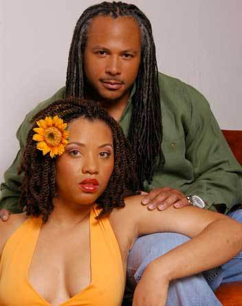 Two Gorgeous Looks from Uncle Fu - Brunette, Male, Medium hair styles, Kinky hair, Long hair styles, Twist hairstyles, Styles, Female, Adult hair, Dreadlocks Hairstyle Picture