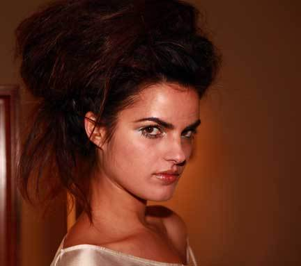 More Volume by Philip Pelusi - Brunette, Updos, Long hair styles, Styles, Female Hairstyle Picture