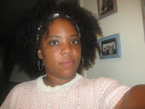 My roots - Brunette, 4a, Medium hair styles, Kinky hair, Female, Black hair, Adult hair, Braid out, Natural Hair Celebration Hairstyle Picture