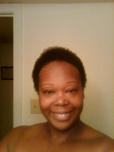 The Big Chop - Brunette, Very short hair styles, Readers, Female, Curly hair, Black hair, Adult hair Hairstyle Picture