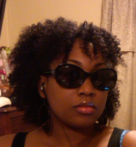 Soft twist out with bangs! - 4a, 4b, Medium hair styles, Kinky hair, Readers, Styles, Female, Black hair, Adult hair, Twist out, Curly kinky hair, Natural Hair Celebration Hairstyle Picture