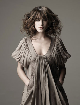 Sebastian Fall 2009 - Brunette, Wavy hair, Medium hair styles, Styles, Female Hairstyle Picture