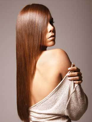 de Fabulous Keratin Treatment - Brunette, Long hair styles, Styles, Female, Adult hair, Straight hair Hairstyle Picture