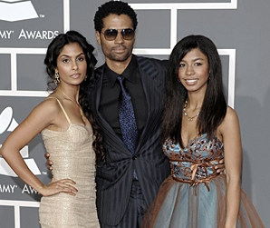 Eric Benet - Brunette, 3c, 4a, Celebrities, Male, Short hair styles, Afro, 2009 Grammy Awards Hairstyle Picture