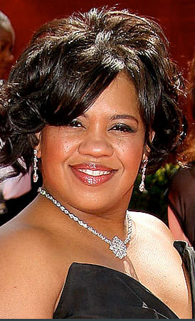 Chandra Wilson - Celebrities, Short hair styles, Female, Curly hair, Black hair, 2009 Emmy Awards Hairstyle Picture