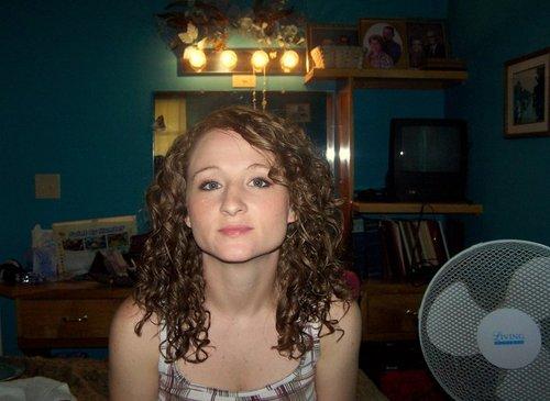 3b  - Brunette, 3b, Medium hair styles, Long hair styles, Readers, Female, Curly hair, Teen hair, Adult hair Hairstyle Picture