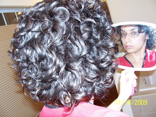 back of head/after pic - Brunette, 3a, Short hair styles, Readers, Female, Curly hair Hairstyle Picture