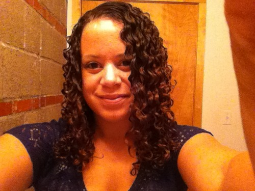 Biracial 3B Curls - Brunette, 3b, Readers Hairstyle Picture