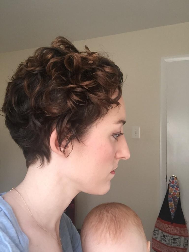 Curly Pixie By Sheilamccracken