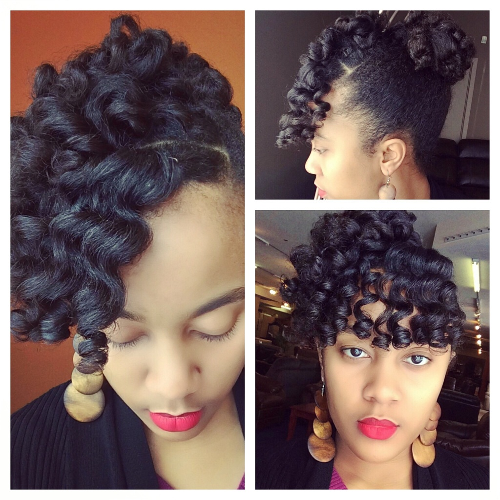 Perm Rod Curls And Curly Bun By Nknaturals